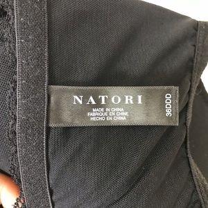 Natori Intimates & Sleepwear - Natori black front closure high back size 36DDD